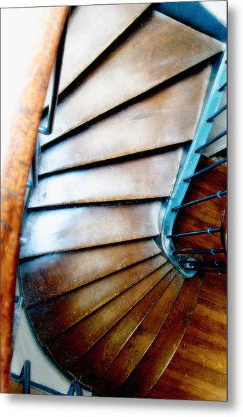 Stairs Paris Metal Print by Keith Campagna
