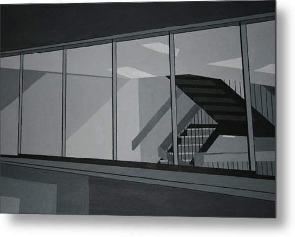 Stairs Metal Print by Ryan Flanagan