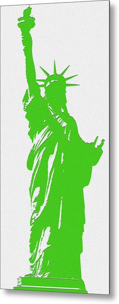 Statue Of Liberty No. 9-1 Metal Print