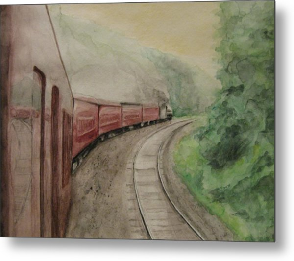 Steam Excursion Metal Print by Diana Prout