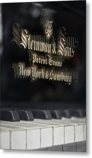 Steinway Original Grand Metal Print