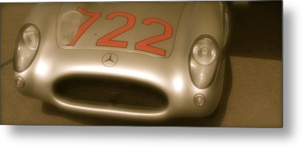 Stirling Moss 1955 Mille Miglia Winning 722 Mercedes Metal Print