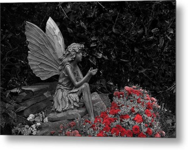 Stone Fairy Metal Print