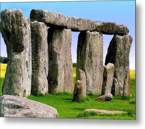 Stonehenge - England Metal Print by Jen White
