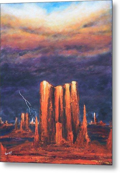 Storm Break 2 Metal Print