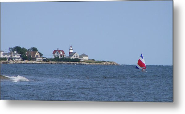Stratford Ct Lighthouse Metal Print by Margie Avellino