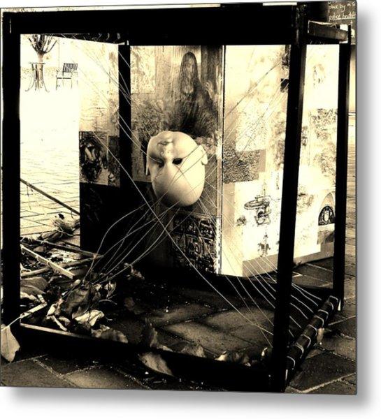 Streets Metal Print by Evan Pullins