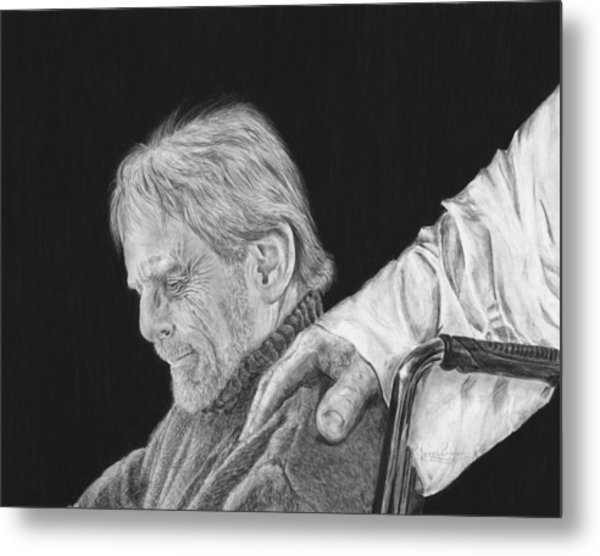Strength For The Journey Metal Print