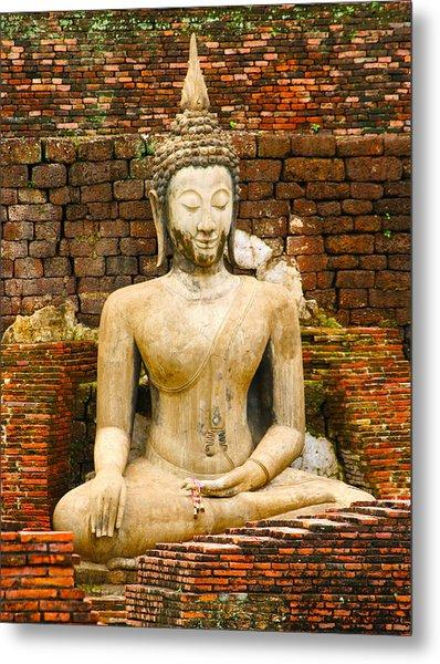 Sucuthai Buddha Metal Print