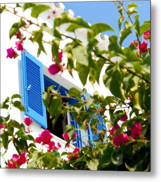 Summer In Greece Metal Print by Ilias Kordelakos