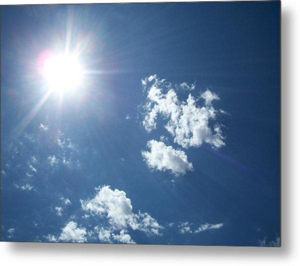 Sun Shine Metal Print by Trenton Heckman
