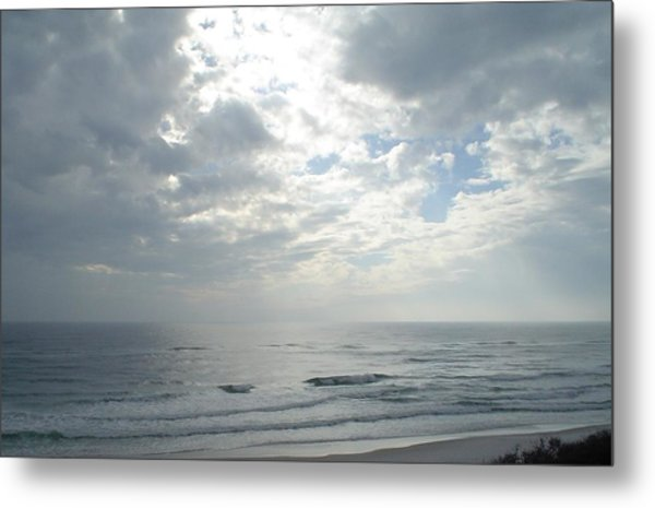 Sunbeam Breakthrough Metal Print