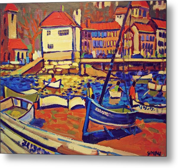 Sunday Boaters Metal Print by Brian Simons