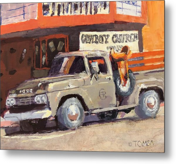 Sunday Morning In Wickenburg Metal Print