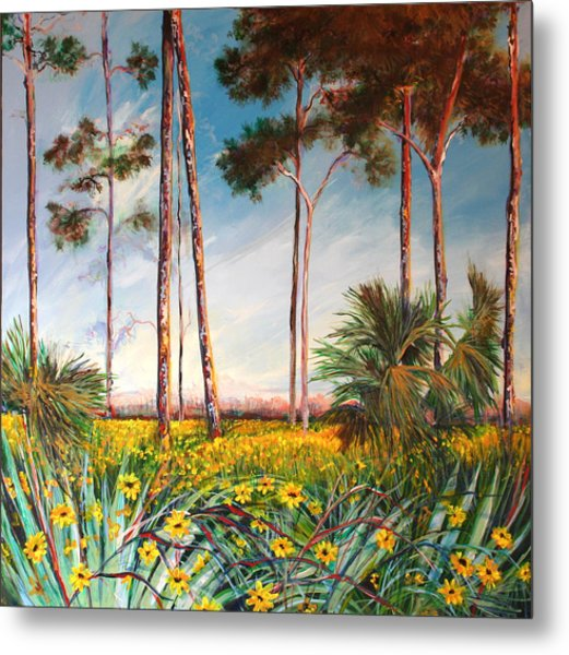 Sunflower Revival Metal Print by Michele Hollister - for Nancy Asbell