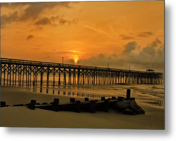 Sunrise At Pawleys Island Metal Print