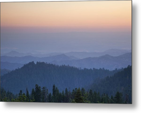 Sunrise Of Sequoia Metal Print by Rick Pham