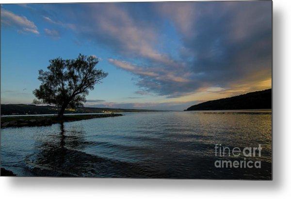 Sunrise On Seneca Lake Metal Print