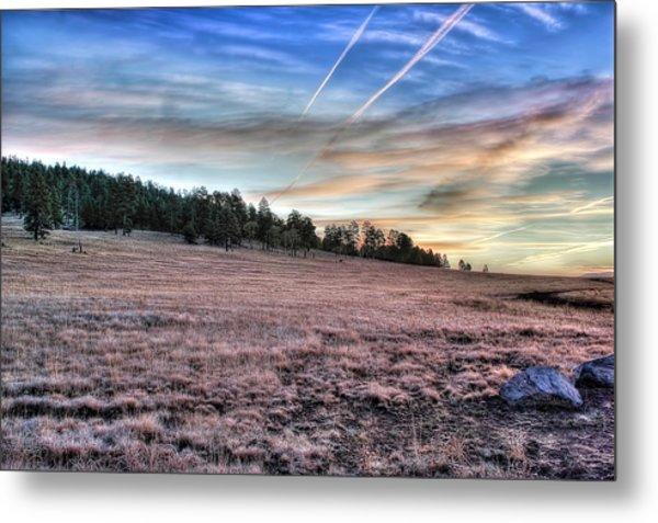 Sunrise Over Ft. Apache Metal Print