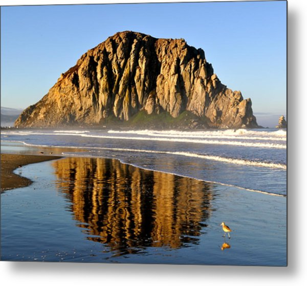 Sunrise Reflections Metal Print