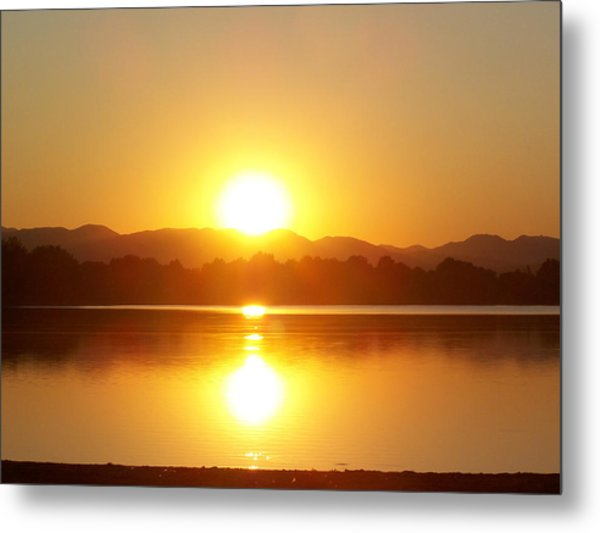 Sunset 2 Metal Print by Travis Wilson