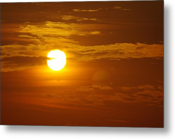Sunset 4 Metal Print by Don Prioleau