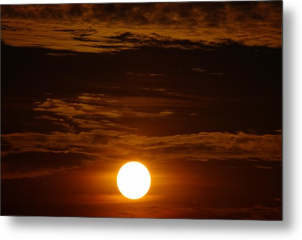 Sunset 5 Metal Print by Don Prioleau