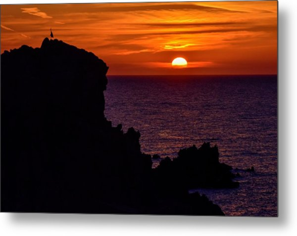 Sunset From Costa Paradiso Metal Print
