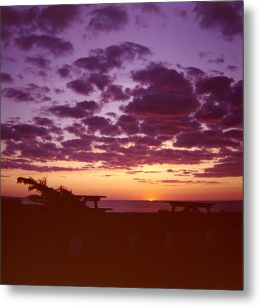 Sunset-prince Edward Island Metal Print by Addie Hocynec