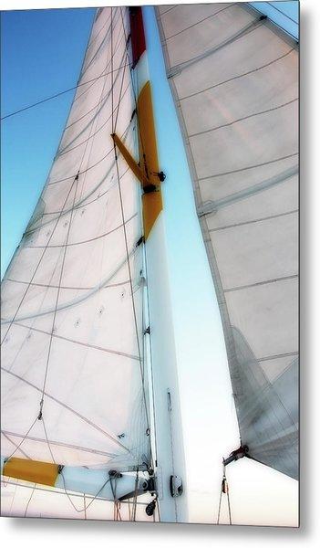 Sunset Sails 2 Metal Print by Alan Hausenflock
