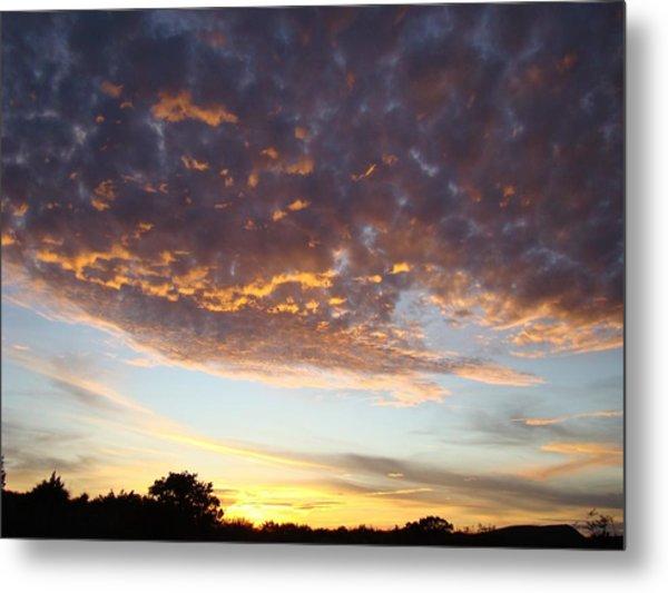 Supernatural Sunset Two Metal Print by Ana Villaronga