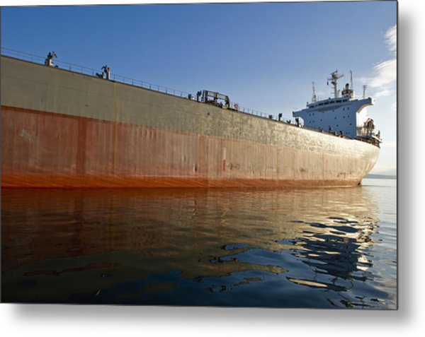 Supertanker Metal Print by Tom Dowd
