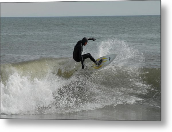 Surfing 115 Metal Print by Joyce StJames
