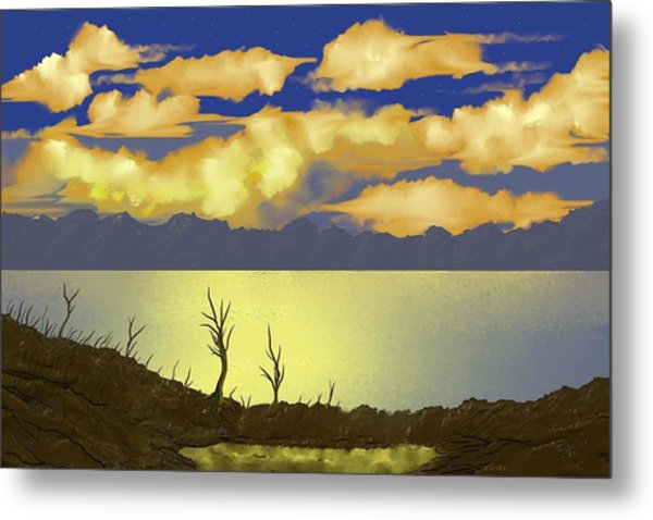 Surreal Sunset Metal Print by Tony Rodriguez