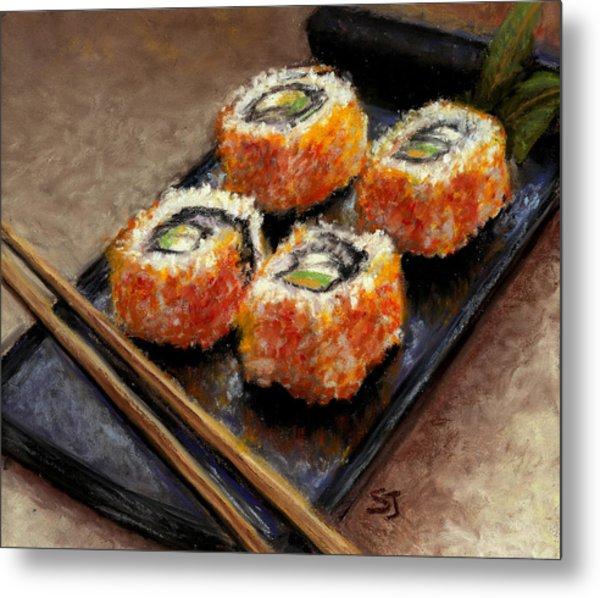Sushi 2 Metal Print