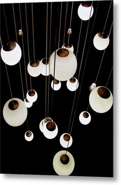 Suspended - Balls Of Light Art Print Metal Print
