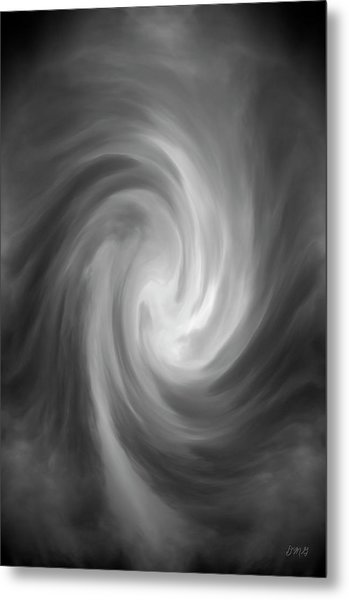 Swirl Wave Iv Metal Print