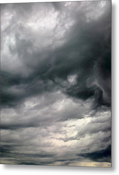 Swirling Clouds Metal Print by Stephen Doughten