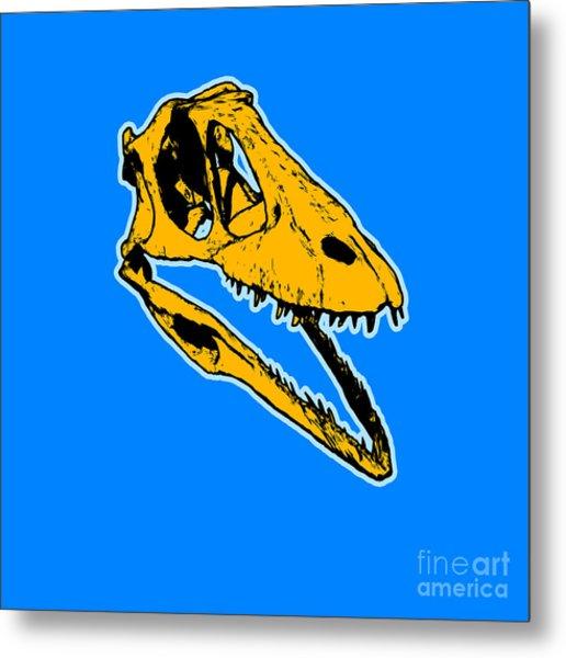 T-rex Graphic Metal Print