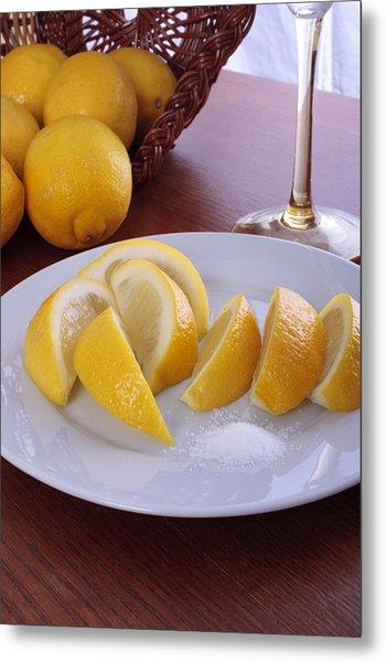 Taste Of Lemon Metal Print by Christin Burrows