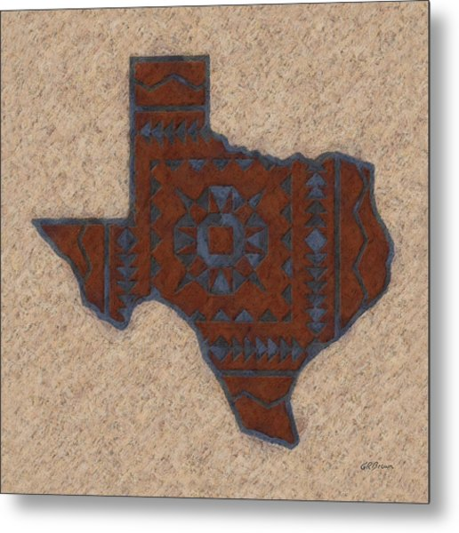 Texas 1 Metal Print