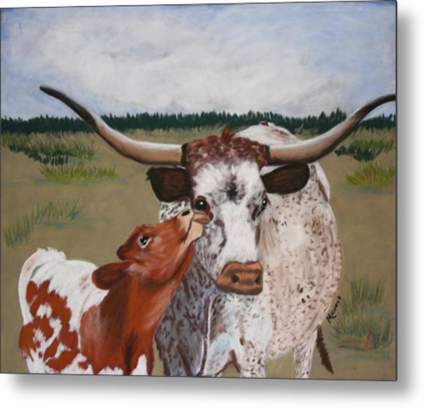 Texas Love Metal Print by Michele Turney