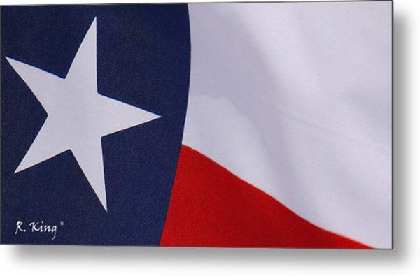Texas Star Metal Print