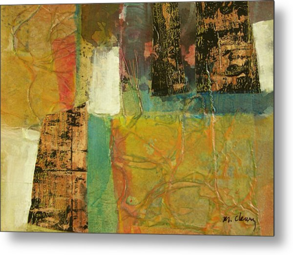 Textural Notions Metal Print by Melody Cleary