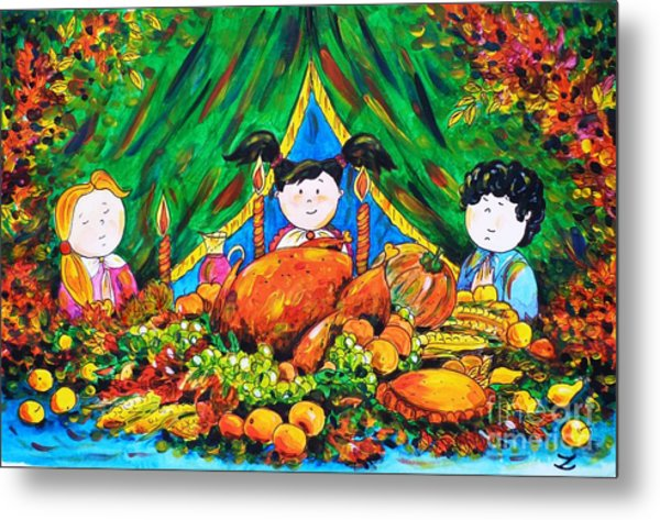 Thanksgiving Day Metal Print