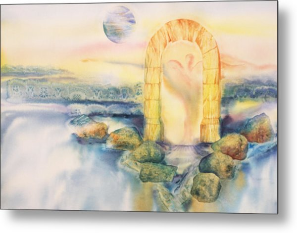 The Angel Within Metal Print