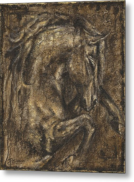 The Beauty Of A Horse Metal Print by Paula Collewijn -  The Art of Horses