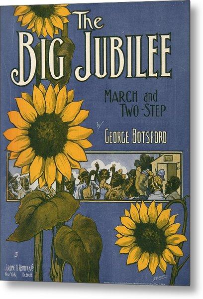 The Big Jubilee Metal Print by Unknown