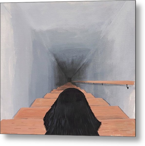 The Big Stairs Go Down Forever Metal Print