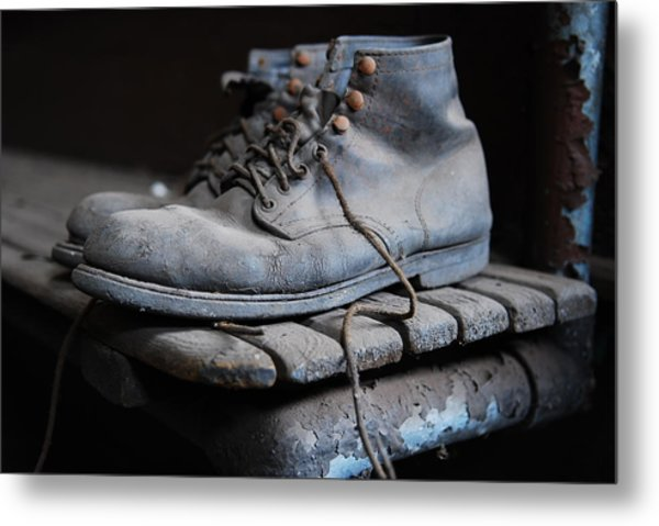 The Boots Metal Print by Eric Harbaugh